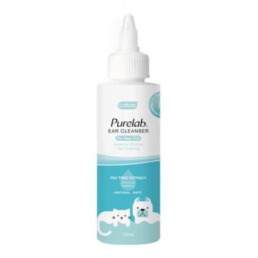 Ausu kopšanas līdzekļi suņiem un kaķiem Cature Purelab Ear Cleanser 120 ml
