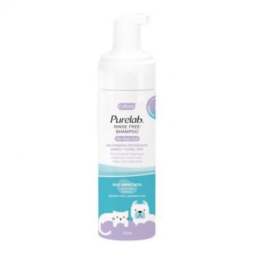 Sausais šampūns suņiem un kaķiem Cature PureLab RINSE FREE SHAMPOO 150 ml