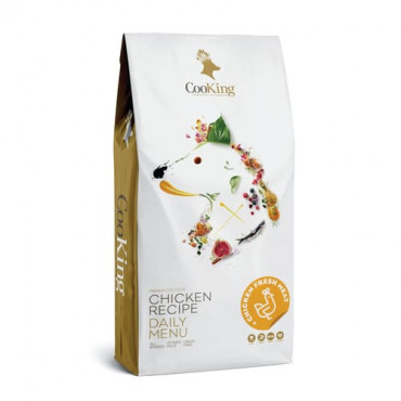 Sausā barība pieaugušiem suņiem CooKing GRAIN FREE CHICKEN RECIPE DAILY MENU ar vistu 12 kg