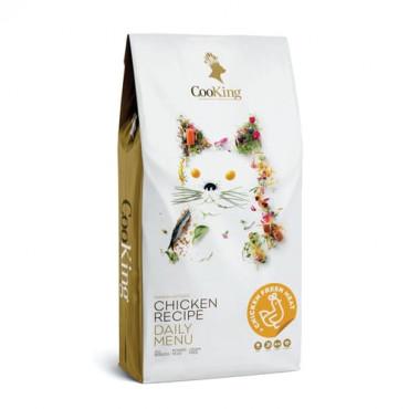 Sausā barība pieaugušiem kaķiem CooKing GRAIN FREE CHICKEN RECIPE DAILY MENU ar vistu 2 kg