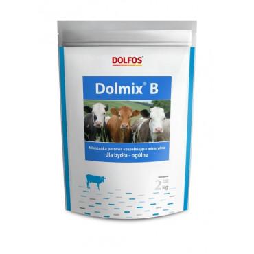 Papildu minerālbarība liellopiem Dolfos Dolmix B visiem vecumiem 2 kg