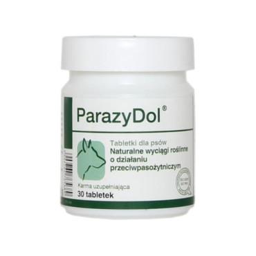 Minerālu papildbarība suņiem Dolfos ParazyDol dabiskā attārpošana 30 tab