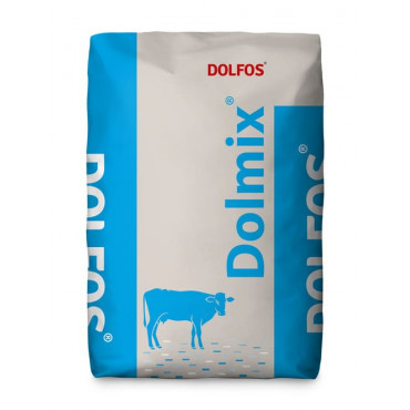 Papildu minerālbarība govīm Dolfos Dolmix BM ar vidējo ražu 10 kg