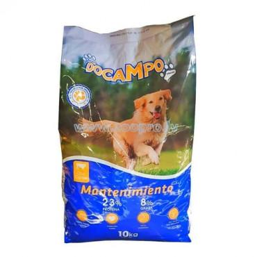 Sausā barība pieaugušiem suņiem DOCAMPO Izvēlne gaļa un gaļas produkti, graudaugi 10 kg