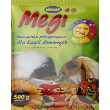 Grauzēju barība Megi jūras cūciņam 500g