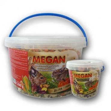 Pilnvērtīga pamatbarība priekš degu Megan Golden Series 1 l / 400 g