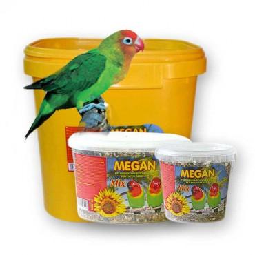 Barība vidējiem papagaiļiem Megan 1 l / 650 g