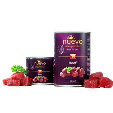 Konservi kaķiem nuevo Adult Beef ar liellopa gaļu 200 g