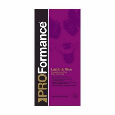 Sausā barība pieaugušiem suņiem PROFormance Lamb & Rice ar jēru un rīsiem 15 kg