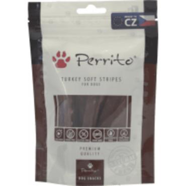 Gārdums suņiem PERRITOSNACKS Turkey Soft Stripes ar tītara gaļu 100 gr.