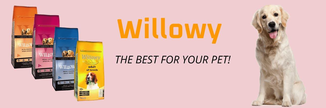 Sausā barība suņiem un kaķiem - Willowy