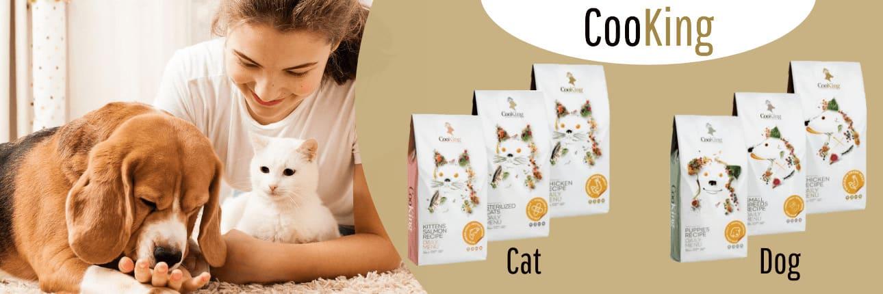 Sausā barība suņiem un kaķiem - CooKing