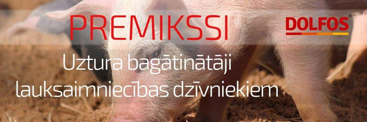 Uztura bagātinātāji lauksaimniecības dzīvniekiem - Dolfos